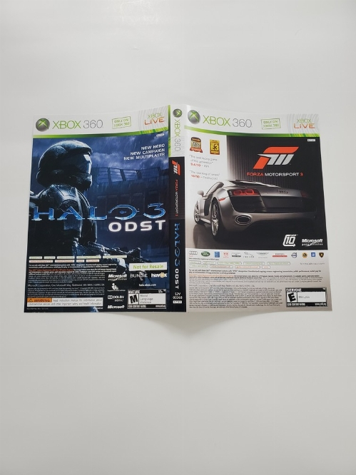 Forza: Motorsport 3 & Halo 3: ODST (Combo) (B)