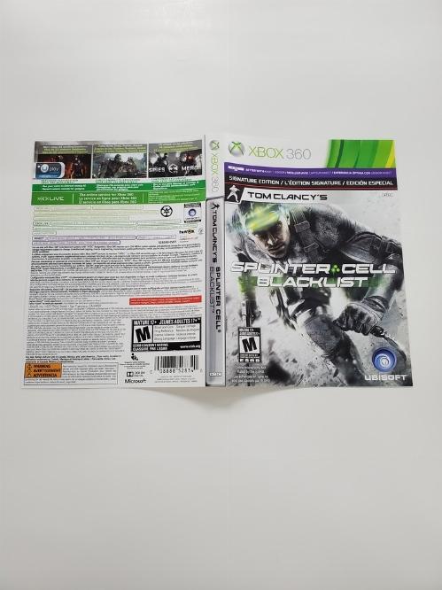 Tom Clancy's Splinter Cell: Blacklist (Signature Edition) (B)