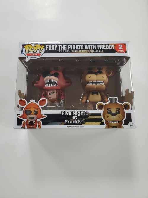 Foxy the Pirate & Freddy (2 Pack) (NEW)