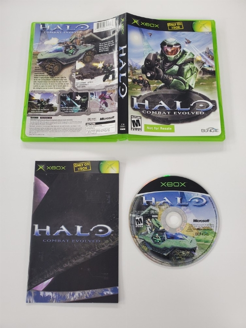Halo: Combat Evolved (Not for Resale) (CIB)