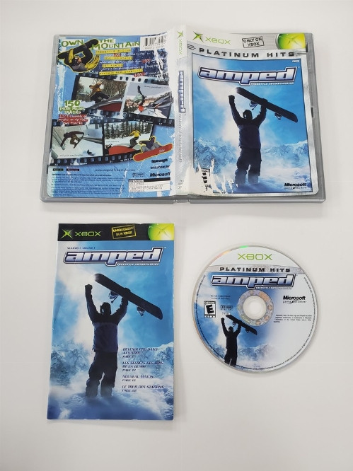 Amped: Freestyle Snowboarding (Platinum Hits) (CIB)