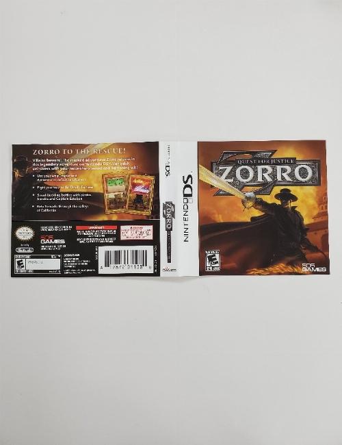 Zorro: Quest for Justice (B)
