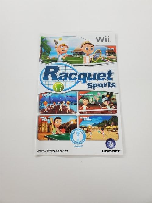 Racquet Sports (I)