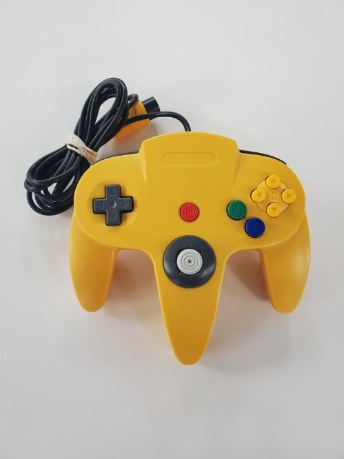 Nintendo 64 Yellow 3rd Party Controller (C)