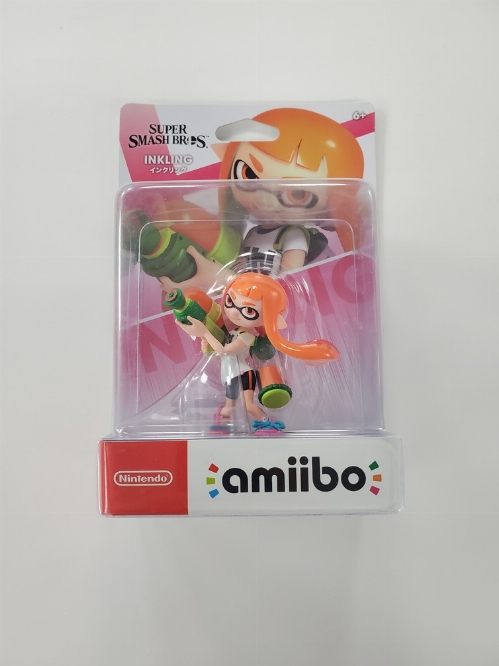 Inkling Girl (Orange) (Super Smash Bros. Series) (NEW)