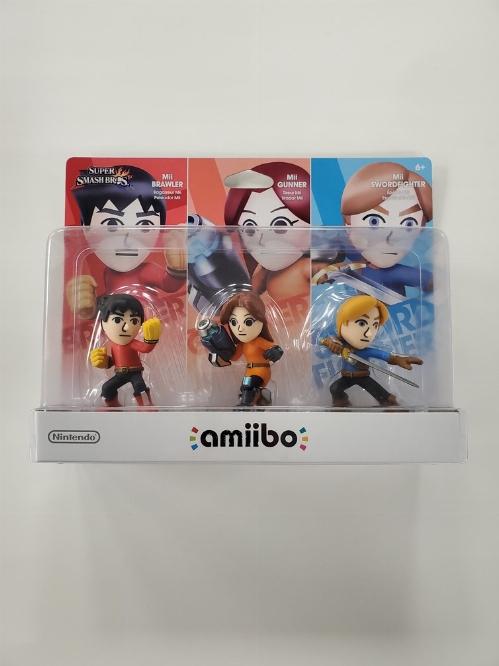 Mii 3 Pack (Super Smash Bros. Series) (NEW)