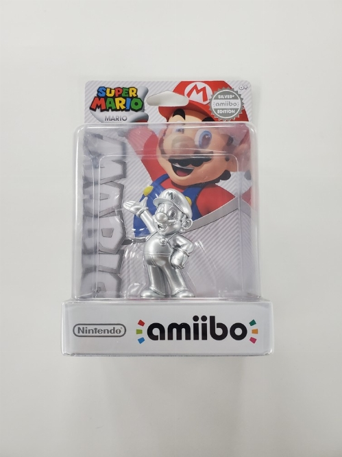 Mario - Silver (Super Mario Bros. Series) (NEW)