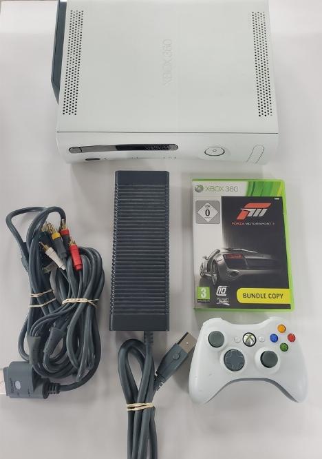 Xbox 360 (20GB) Arcade White (Version Européenne) (C)