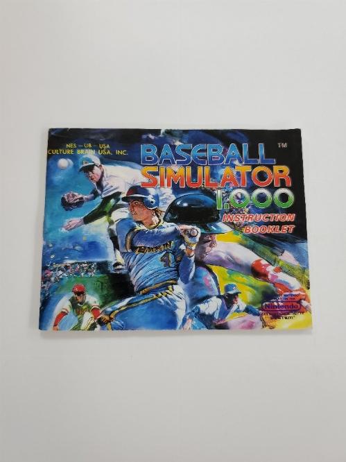 Baseball Simulator 1.000 (I)