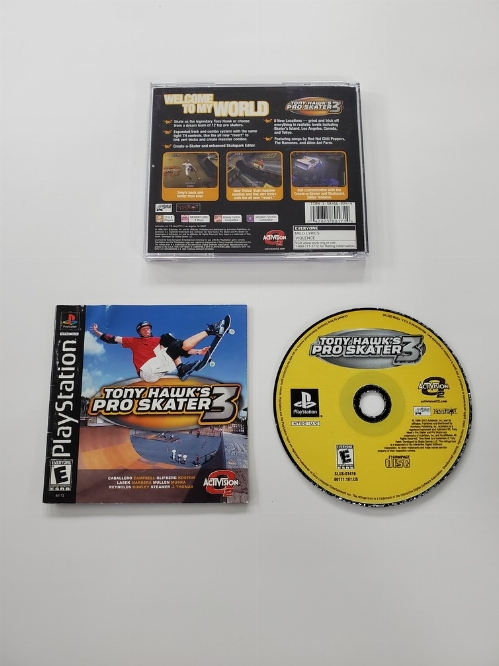 Tony Hawk's Pro Skater 3 (CIB)