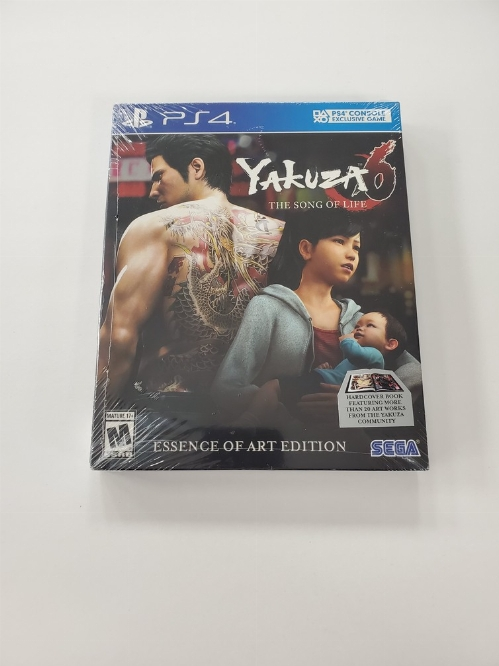 Yakuza 6: The Song of Life (Essence of Art Edition) (NEW)
