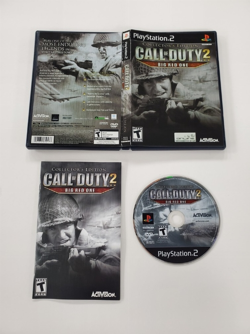 Call of Duty 2: Big Red One (Collector's Edition) (CIB)