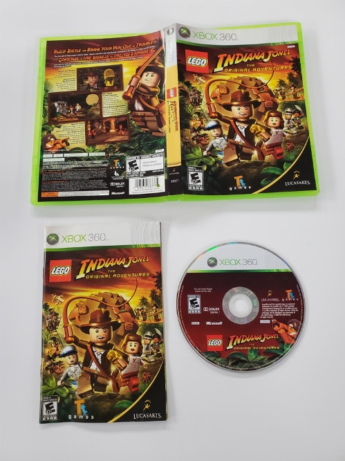 LEGO Indiana Jones: The Original Adventures (CIB)