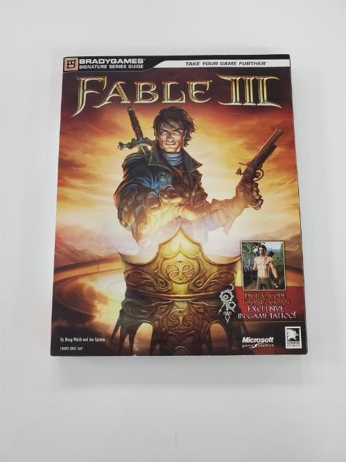 Fable III Brady Games Guide