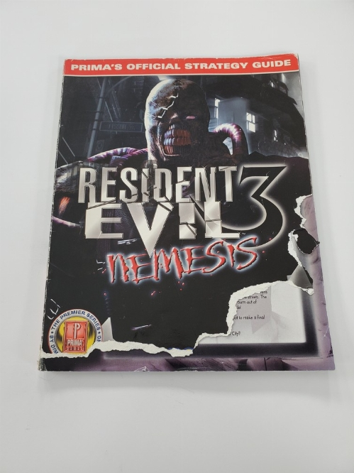 Resident Evil 3: Nemesis Prima's Official Guide