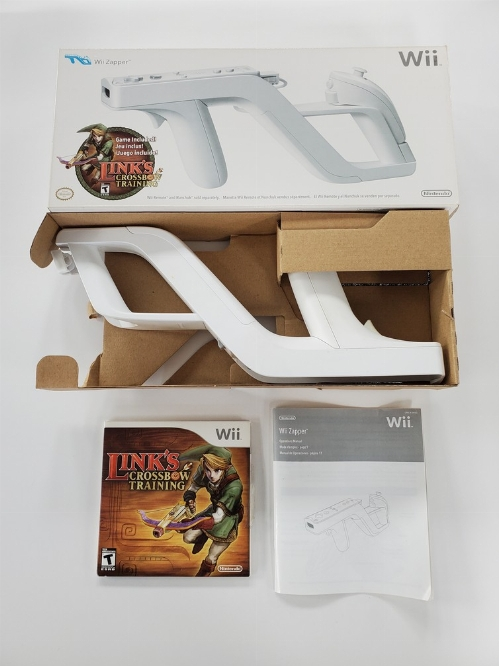 Wii Zapper & Link's Crossbow Training Bundle (CIB)