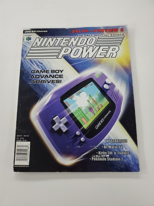 Nintendo Power Issue 143