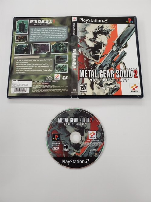 Metal Gear Solid 2: Sons of Liberty (CB)