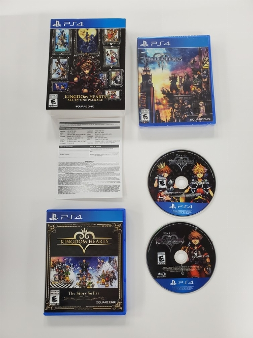 Kingdom Hearts: All-In-One Package (CIB/Sealed)