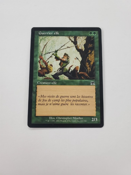 Elvish Warrior (Version Francaise)