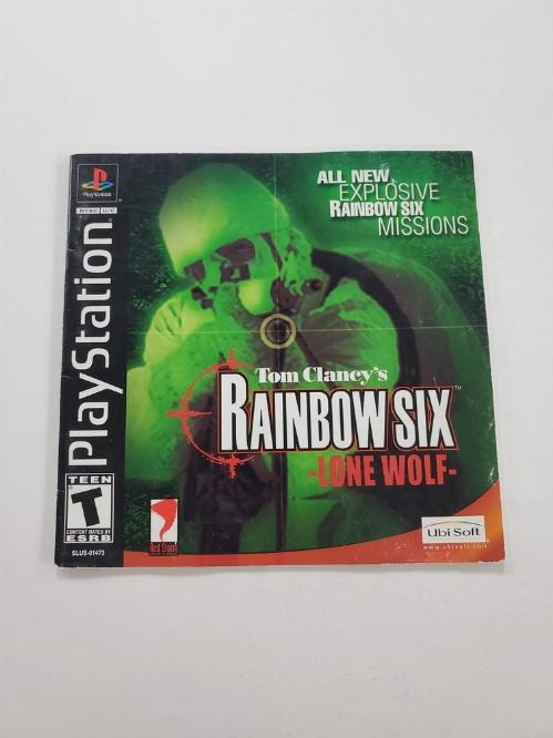 Tom Clancy's Rainbow Six: Lone Wolf (I)