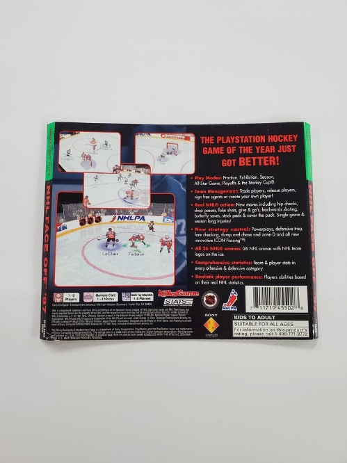NHL FaceOff 97 [Greatest Hits] (B)