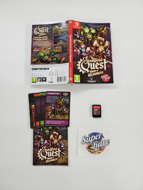 SteamWorld Quest: Hand of Gilgamech (Version Européenne) (CIB)