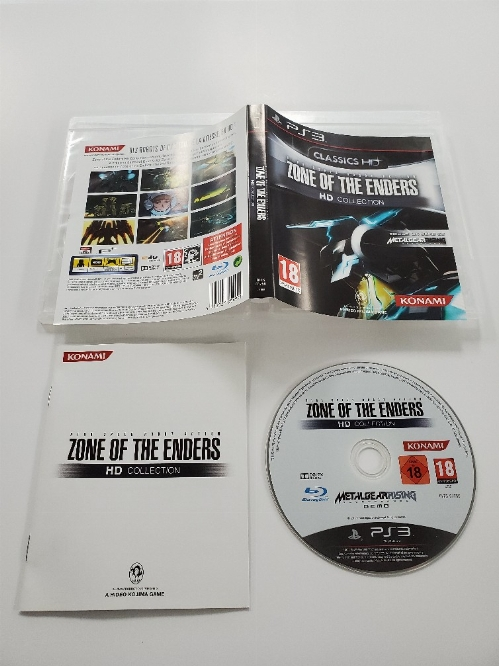 Zone of the Enders HD Collection (Version Européenne) (CIB)
