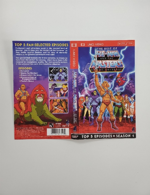 Best of He-Man & The Masters of the Universe (Season 1) (UMD Video) (B)