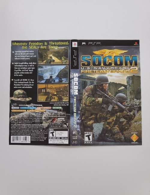 SOCOM: U.S. Navy SEALs: Fireteam Bravo 2 (B)