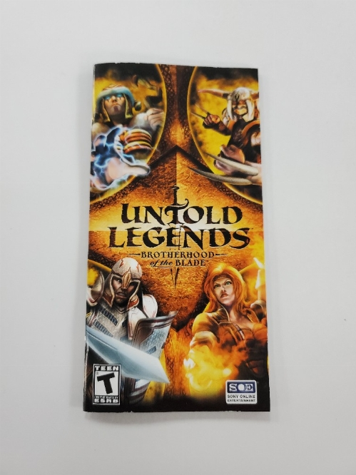 Untold Legends: Brotherhood of the Blade (I)