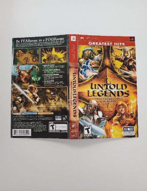 Untold Legends: Brotherhood of the Blade (Greatest Hits) (B)
