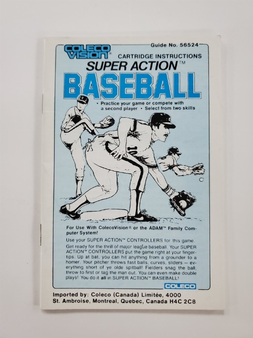Super Action Baseball (I)