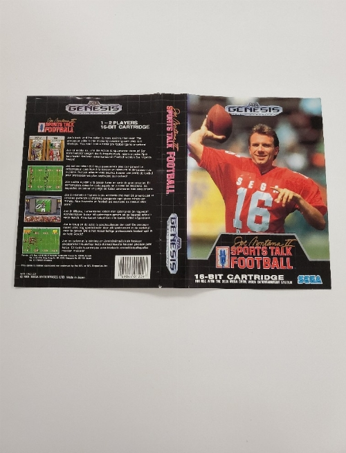 Joe Montana II Sports Talk Football (B)