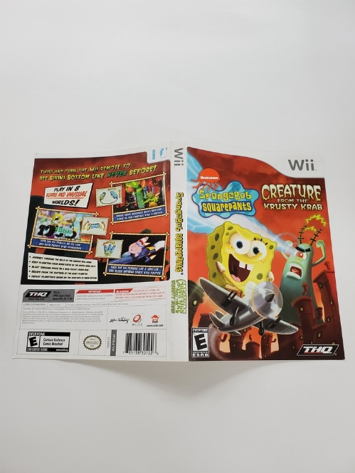 SpongeBob SquarePants: Creature from Krusty Krab (B)