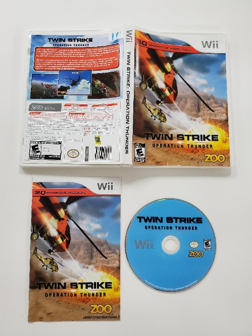Twin Strike: Operation Thunder (CIB)