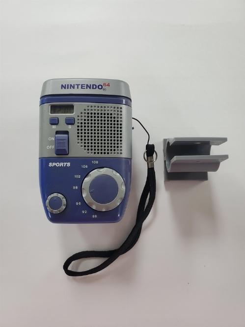 Nintendo 64 Sports AM/FM Bike Light Radio (C)