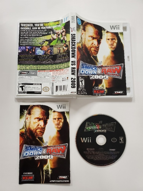 WWE SmackDown vs. Raw 2009 (CIB)